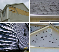 Siding Repairs, Roofing Repairs, Eavestrough Repairs, Hail Damage Repairs, Calgary Alberta